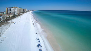 A Destin, Florida Stretch of Beach